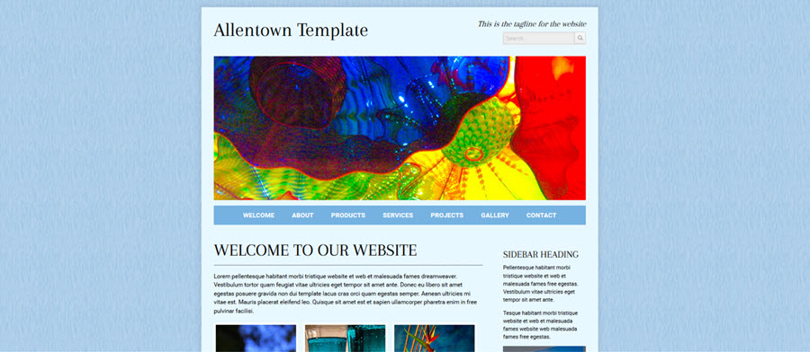 Web Template - Allentown