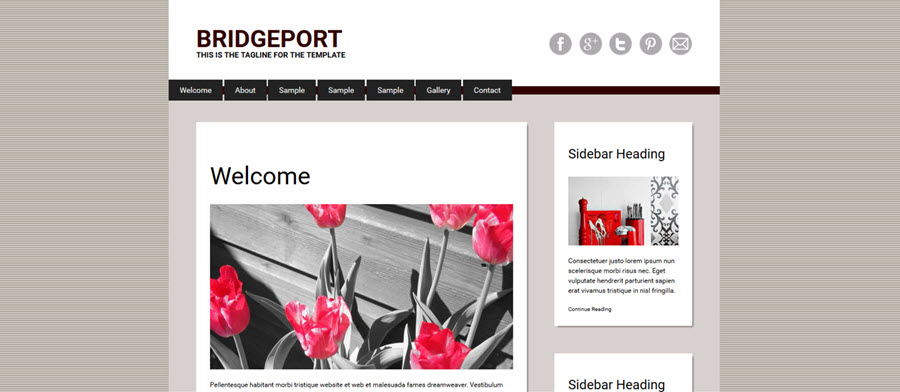 Web Template - Bridgeport