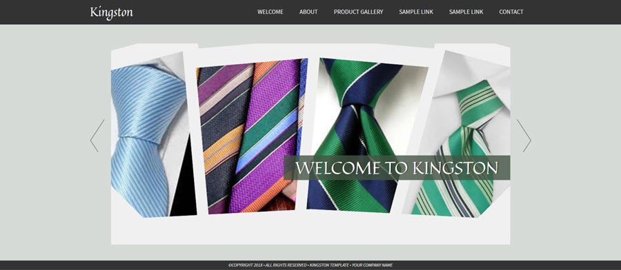 Web Template - Kingston