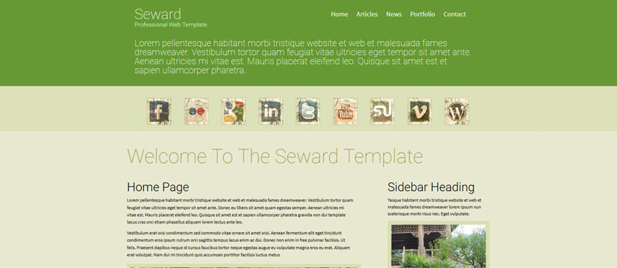 Web Template - Seward